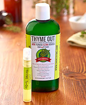 Thyme Out All-Natural Skin Solution