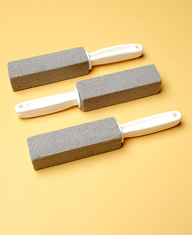 Set of 3 Heavy-Duty Scouring Stones