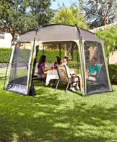 Easy-Up 12' x 14' Screen Gazebo