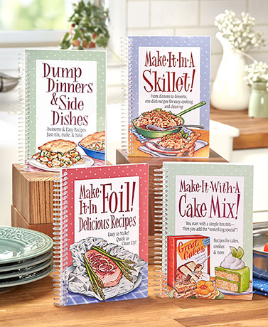 Delicious Easy Recipe Cookbooks