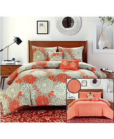 5-Pc. Reversible Comforter Sets