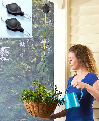 Set of 2 Clever Plant Hangers