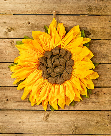 "21"" Country Sunflower Wall Hanging"