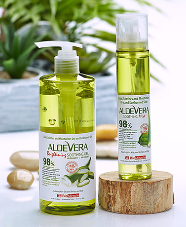 BioMiracle Organic Aloe Vera Gel or Mist