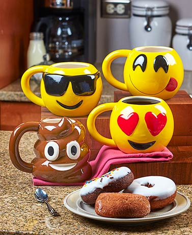 Emotiworld!™ 20-oz. Ceramic Mugs