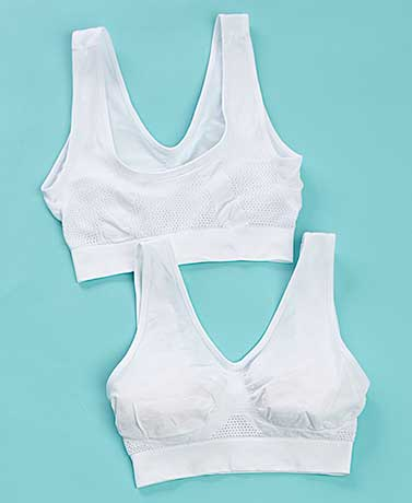 Women's Sets of 2 Cooling Comfort Bras