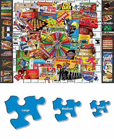 Nostalgic Collage Family Puzzles
