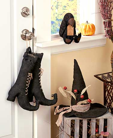 Primitive Halloween Decor