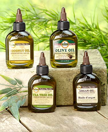Sets of 2 Premium Mega Hair Oils