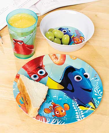 Finding Dory 3-Pc. Kids' Meal Set