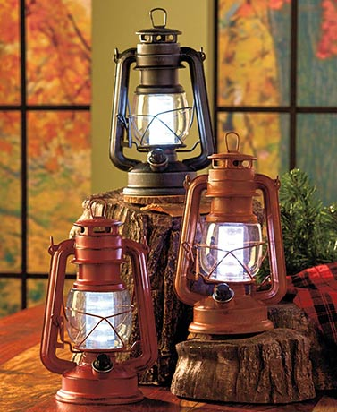 Rustic Metal Lanterns