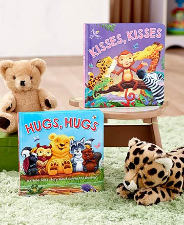 Kids' Hugs or Kisses Books