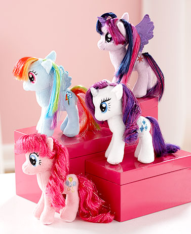 My Little Pony® Plush with Sparkly Hair