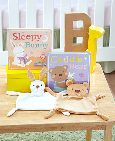 Baby's First Book & Plush Sets