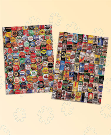 Sets of 2 Nostalgic 1,000-Pc. Puzzles