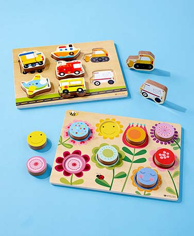 Chunky Wooden Puzzles