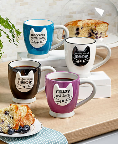 Crazy Cat Mugs