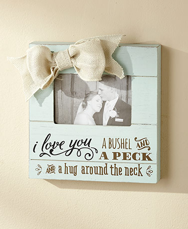 Wooden Plank Photo Frames