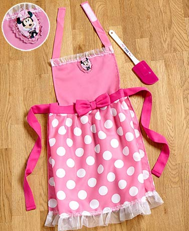 Licensed Kids' Apron Kitchen Sets