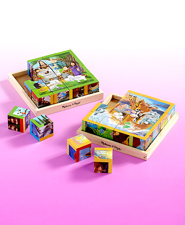 Melissa & Doug® 6-in-1 Bible Cube Puzzles