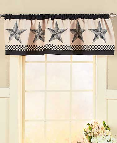 Black Barn Star Home Accents