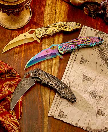 Masters Collection™ Dragon Folding Knives