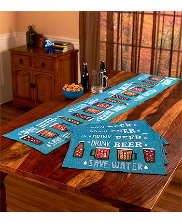 Themed Tapestry Table Linens