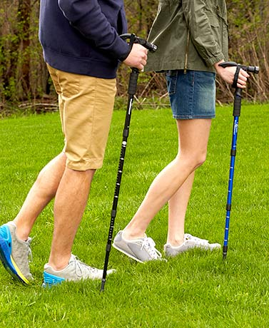 Trailblazer Telescopic Walking Sticks