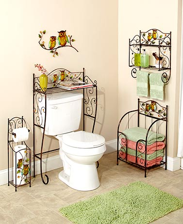 Bronze Owl Bathroom Collection