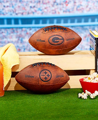 NFL Team Throwback Footballs