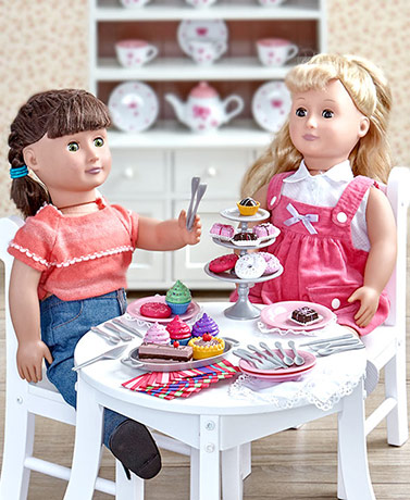 "18"" Doll Food Playsets"