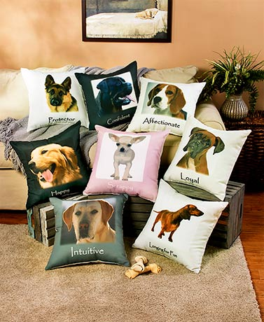 Dog Breed Personality Pillows