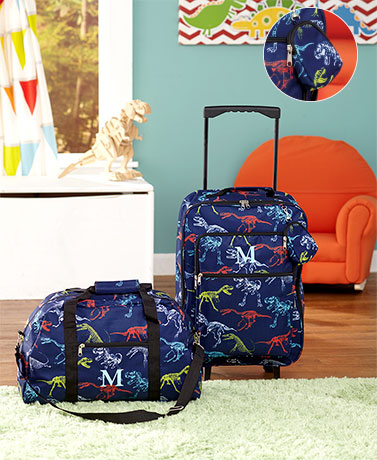 3-Pc. Boys' Monogram Luggage Sets