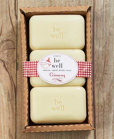 Simply be well™ Ginseng Break-Away Soaps
