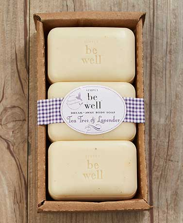 Simply be well™ Break-Away Soaps