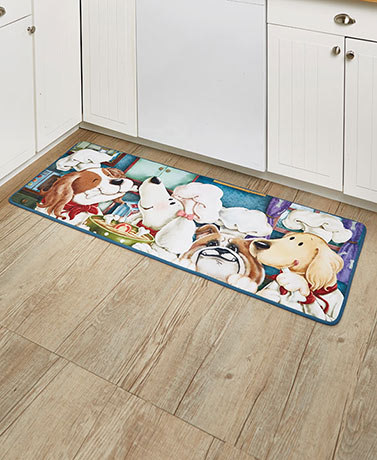 Furry Friends Chef Dog Rug