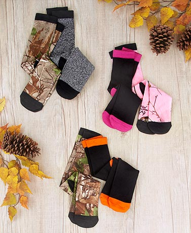 2-Pair Realtree® Socks