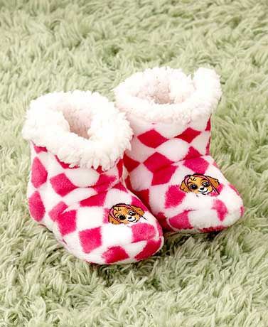 Toddler Plush Character Booties
