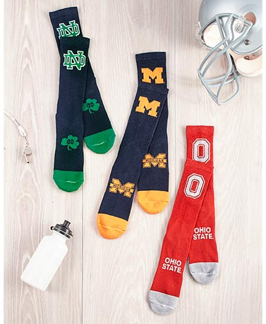 Men's Collegiate Athletic Crew Socks