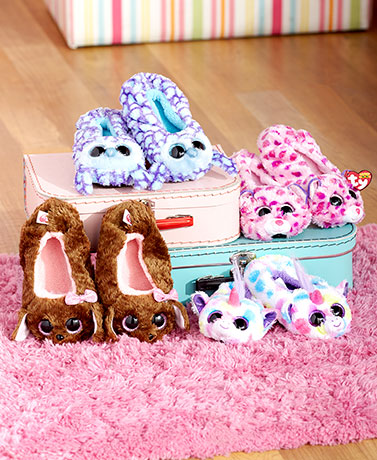 Kids' Ty® Beanie Boo Slippers