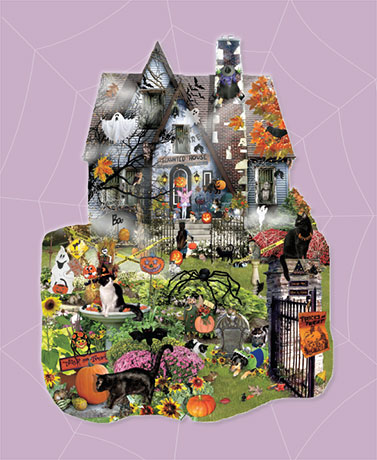 1,000-Pc. Halloween Puzzles