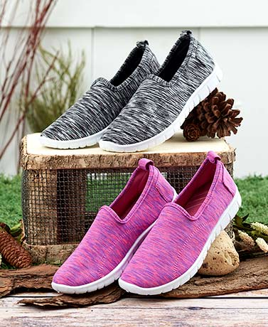 Slip-On Memory Foam Sneakers