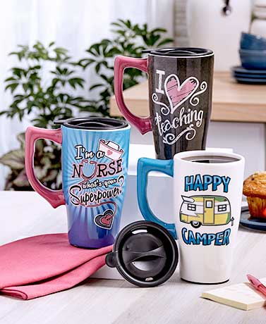 The Perfect Gift Travel Mugs