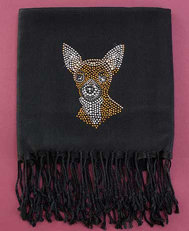 Dog Breed Bling Scarves