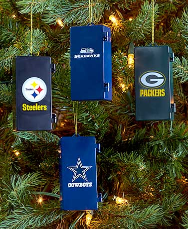 NFL Locker Ornaments
