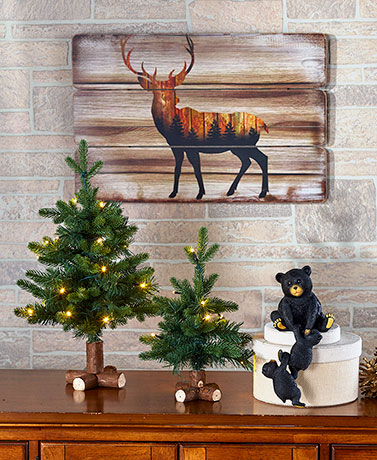 Winter Woodland Home Decor