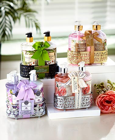 Soap and Lotion Fancy Caddies