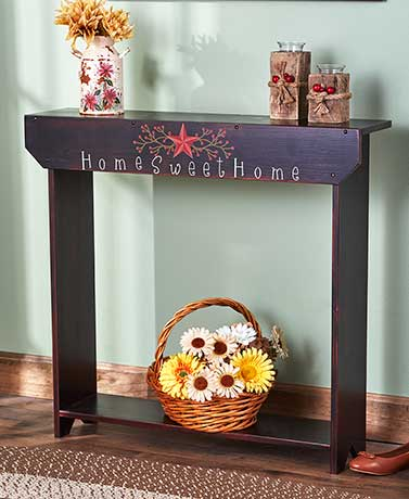 Country Sentiment Console Tables