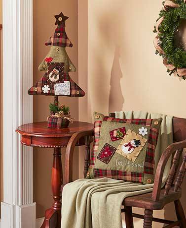 Happy Homespun Holiday Decor