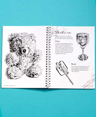 Complete Drawing Books & Pencils Kit